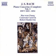 Bach - Piano Concertos Vol 1 - Robert Stankovsky,Hae Won Chang