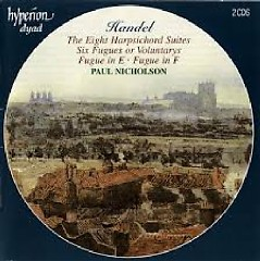 Handel - The Eight Harpsichord Suites CD 2 (No. 1) - Paul Nicholson