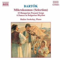Bartok - Mikrokosmos (No. 1) - Balazs Szokolay