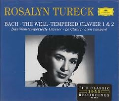 Bach - The Well Tempered Clavier I & II CD 4 (No. 2) - Rosalyn Tureck