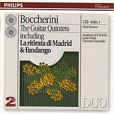 Boccherini - Guitar Quintets CD 1 - Pepe Romero,Academy Of St Martin InThe Fields