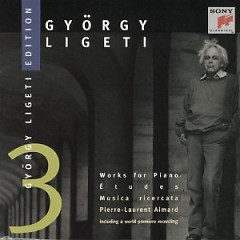 Gyorgy Ligeti Edition, Vol. 3 - Works For Piano (No. 2) - Pierre-Laurent Aimard