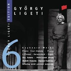 Gyorgy Ligeti Edition, Vol. 6 - Keyboard Works (No. 2) - Elisabeth Chojnacka,Pierre-Laurent Aimard