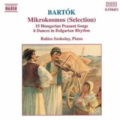 Bartok - Mikrokosmos (No. 5) - Balazs Szokolay