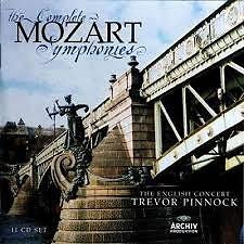 Mozart - The Complete Symphonies CD 5 (No. 1) - Trevor Pinnock,The English Concert