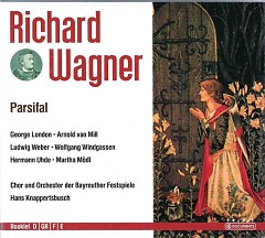 Richard Wagner - The Complete Opera Collection Vol 10. Parsifal CD 1 - Hans Knappertsbusch,Chor Und Orchester Der Bayreuther Festspiele