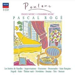 Francis Poulenc - Piano Music, Chamber Music CD 1 (No. 1) - Pascal Roge