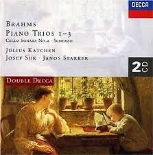 Brahms - Complete Piano Trios CD 1 - Josef Suk,Janos Starker,Julius Katchen