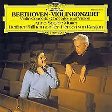 Beethoven - Violin Concerto - Anne - Sophie Mutter,Herbert von Karajan,Berlin Philharmonic Orchestra