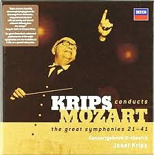 Krips Conducts Mozart - The Great Symphonies 21 - 41 CD 5 - Josef Krips,Amsterdam Baroque Orchestra