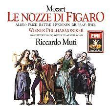 Mozart - Le Nozze Di Figaro CD 2 (No. 1) - Riccardo Muti,Vienna Philharmonic