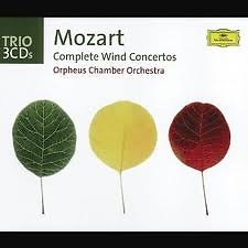 Mozart - Complete Wind Concertos CD 3 - Orpheus Chamber Orchestra