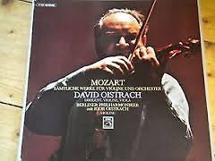 Mozart - Samtliche Werke Fur Violine Und Orchester CD 1 - David Oistrach