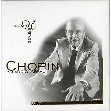 Arrau Heritage - Chopin CD 6 - Claudio Arrau,London Philharmonic Orchestra