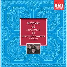 Mozart  - String Quartets, String Quintets CD 7 - Alban Berg Quartet