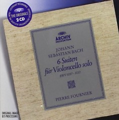 Bach - 6 Suites For Solo Cello CD 1 (No. 1) - Pierre Fournier