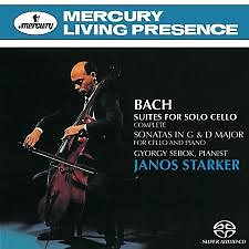 Bach - Suites For Solo Cello; Sonatas In G & D Major (No. 2) - Janos Starker