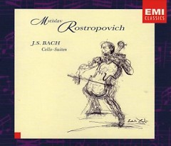 J.S.Bach - Cello Suites CD 1 (No. 2) - Mstislav  Rostropovich