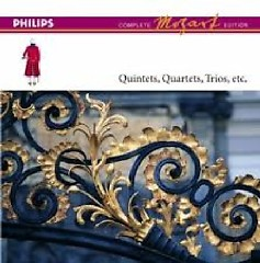 Mozart Complete Edition Box 6 - Quintets, Quartets & Trios CD 8 - Beaux Arts Trio,Academy Of St Martin InThe Fields
