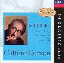Schubert - Piano Sonata In D, D. 850; Moments Musicaux, D. 780; Impromptus, D. 899, 3 & 4 - Clifford Curzon