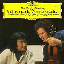 Berg, Stravinsky - Violin Concertos - Seiji Ozawa,Itzhak Perlman