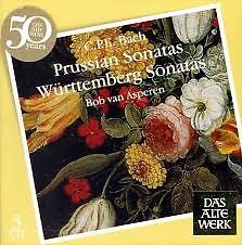 C.P.E. Bach - Prussian Sonatas; Württemberg Sonatas CD 1 (No. 2)