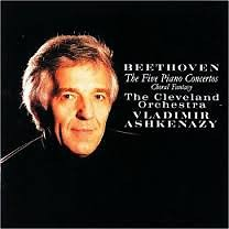 Beethoven - The Five Piano Concertos CD 1  - Vladimir Ashkenazy,The Cleveland Orchestra