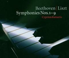 Beethoven, Liszt - Symphonies, Nos. 1 - 9 CD 1  - Cyprien Katsaris