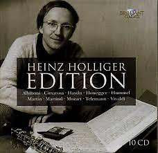 Heinz Holliger Edition CD 5 (No. 1) - Heinz Hollinger