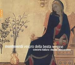 Monteverdi -  Vespro Della Beata Vergine CD 1  - Rinaldo Alessandrini,Concerto Italiano