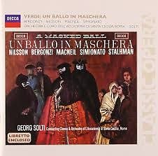 Verdi - Un Ballo In Maschera CD 1 (No. 2) - Sir Georg Solti,Various Artists