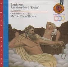 Beethoven - Symphony No. 3 Eroica; Contredanses - Michael Tilson Thomas,Orchestra Of St. Luke's