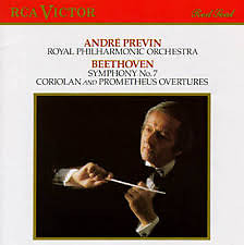 Beethoven - Symphony No. 7; Coriolan & Prometheus Overtures - Andre Previn,Royal Philharmonic Orchestra