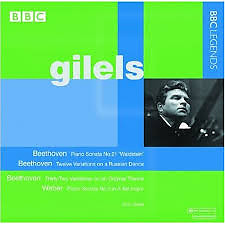Gilels Plays Beethoven & Weber
