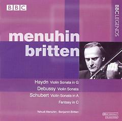 Menuhin & Britten Perform Haydn, Debussy & Schubert - Yehudi Menuhin,Benjamin Britten