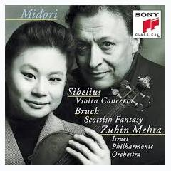 Sibelius - Violin Concerto; Bruch - Scottish Fantasy - Midori,Zubin Mehta,Israel Philharmonic Orhcestra