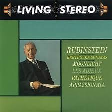 Beethoven - Piano Sonatas (Moonlight, Pathétique, Appassionata, Les Adieux) - Artur Rubinstein