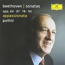 Beethoven - Piano SonatasOpp. 54, 57, 78, 90 CD 2  - Maurizio Pollini