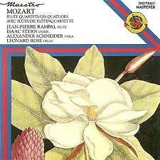 Mozart - Les Quatuors Avec Flute - Jean-Pierre Rampal