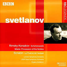 Rimsky Korsakov - Scherherazade; Scriabin - Le Poème de L'extase - Evgeny Svetlanov,London Symphony Orchestra