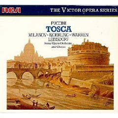 Puccini - Tosca CD 2 (No. 2) - Erich Leinsdorf,Rome Opera Orchestra