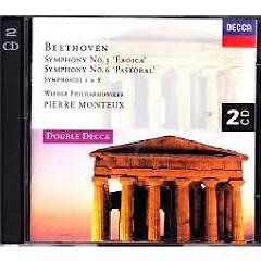 Beethoven - Symphonies Nos. 1, 3, 6, 8 CD 1  - Pierre Monteux,Vienna Philharmonic
