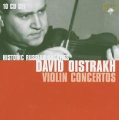 Historic Russian Archives - Violin Concertos CD 8 - David Oistrakh,Various Artists