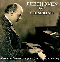 Gieseking Plays Beethoven Sonatas CD 5 - Walter Gieseking