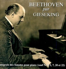 Gieseking Plays Beethoven Sonatas CD 7 - Walter Gieseking