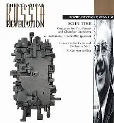 Schnittke - Concertos For Two Pianos & For Cello - Gennady Rozhdestvensky,Natalia Gutman
