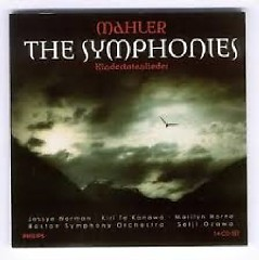 Mahler - The Symphonies - Kindertotenlieder CD 12 - Seiji Ozawa,Boston Symphony Orchestra