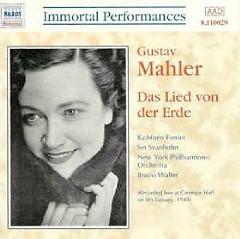 Mahler - Das Lied Von Der Erde - Bruno Walter,New York Philharmonic