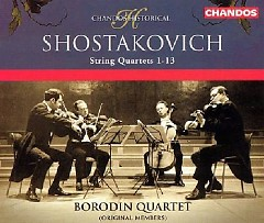 Shostakovich - String Quartets 1-13 CD 4