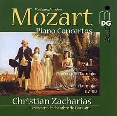 Mozart - Piano Concertos Vol. 1  - Christian Zacharias,Lausanne Chamber Orchestra